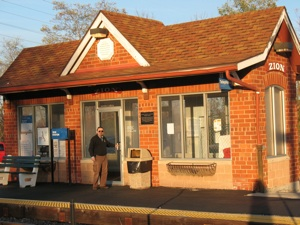 Zion Train Station
