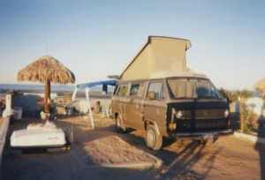 VW Westfalia Hippie Van