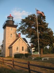Lighthouse at Golden Hills State Park